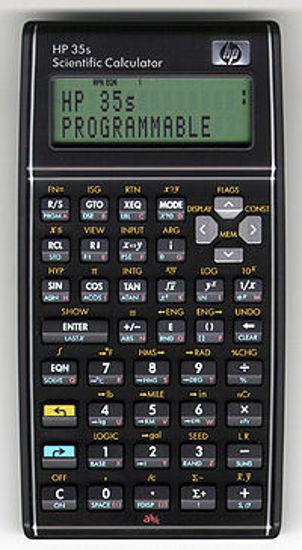 Picture of HP 35S Scientific calculator