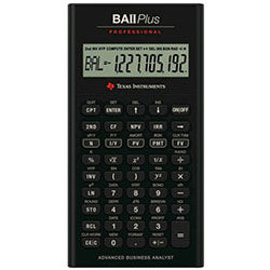 Picture of Texas Instruments BA ll Professional Financial calculator