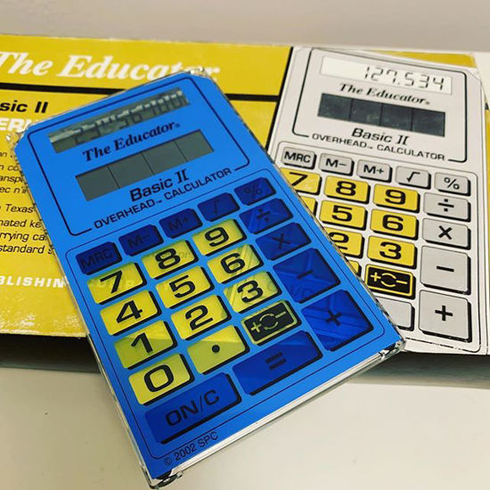 "Picture of Texas Instruments ""The Educator"" Basic ll Overhead TI 106"
