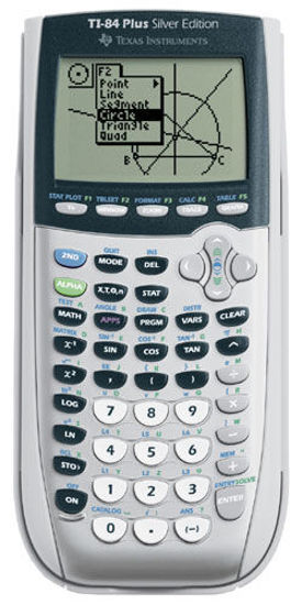 Picture of TI-84 PLUS SILVER EDITION Graphing calculator