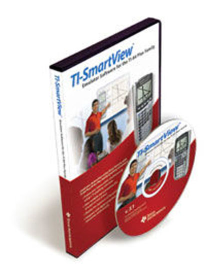 Picture of Texas Instruments SmartView Emulator Software for the TI84 Plus Family - Version 3.1