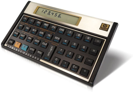 Picture of HP 12C Financial Calculator