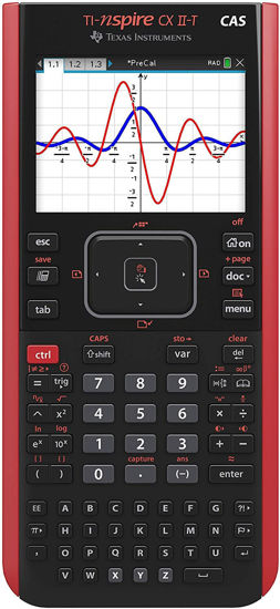Picture of Texas Instruments Nspire CX ll-T CAS Calculator