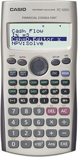 Picture of Casio FC-100V Financial Calculator