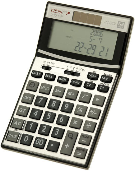Picture of Genie 230 QP Time Calculator with HMS Button