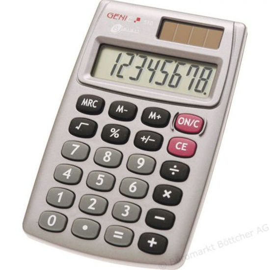 Picture of Genie 510 Basic Calculator
