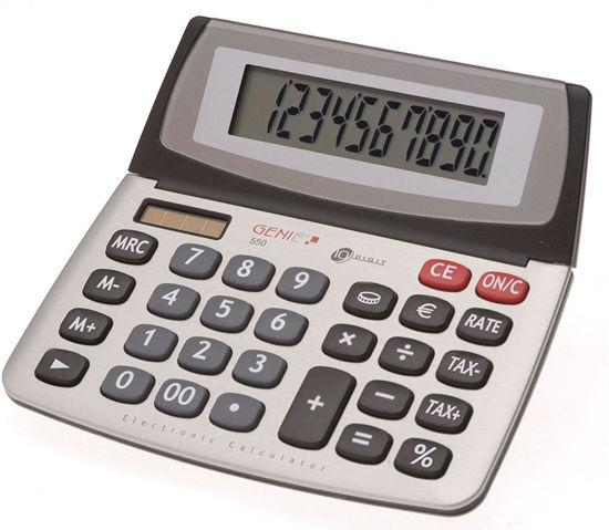 Picture of Genie 550 TE Desktop Calculator
