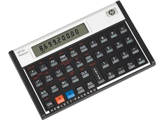 Picture of HP 12C Platinum Financial Calculator