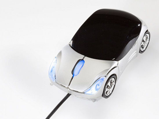 Picture of Genie Computer Mouse in Car Design
