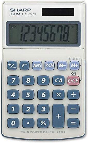 Picture of Sharp EL 240SAB Class Set of 30 Calculators