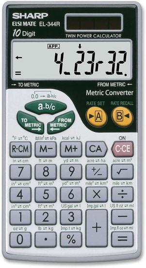 Picture of Sharp EL 344RB Metric Converter Calculator