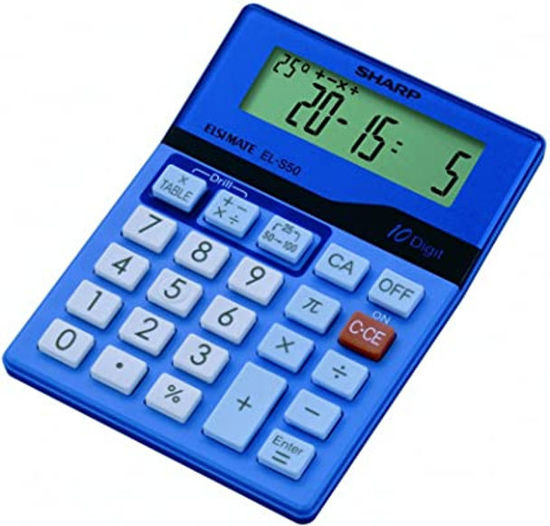 Picture of Sharp ELS50  Children's Maths Learning Calculator