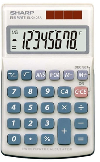 Picture of Sharp EL-240SAB Calculator