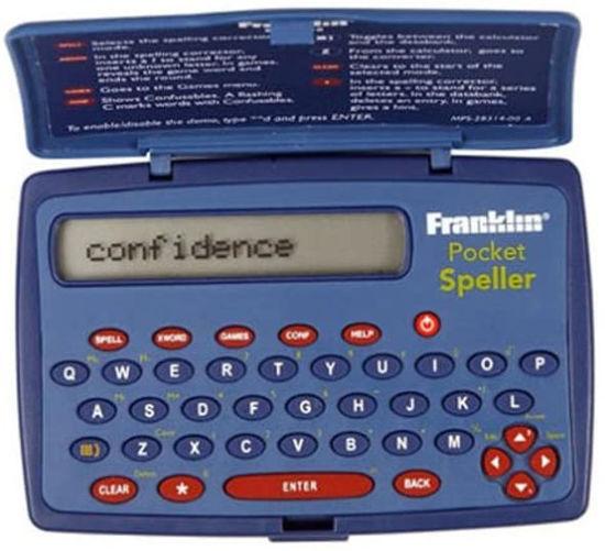 Picture of Franklin SPQ 108 Pocket Spell Checker