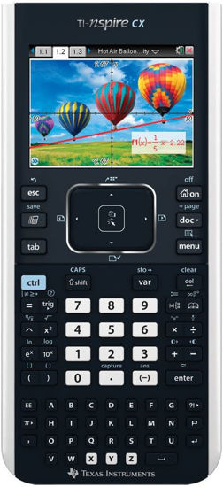Picture of Texas Instruments Nspire CX Graphing Calculator