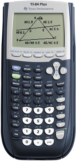 Picture of Texas Instruments 84 PLUS with USB Cable
