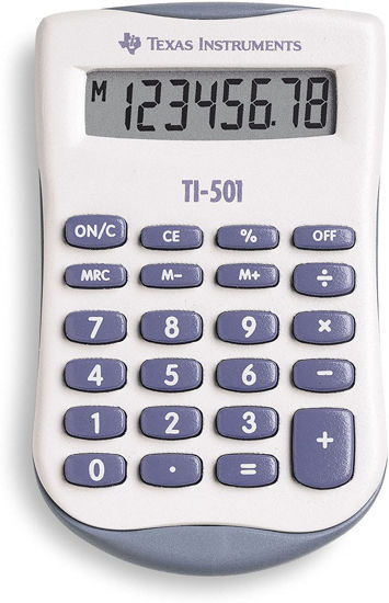 Picture of Texas Instruments  501 SV Pocket Calculator