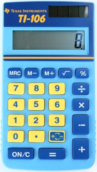 Picture of Texas Instruments 106 Calculator