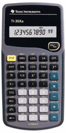 Picture of Texas Instruments 30 XA Scientific Calculator