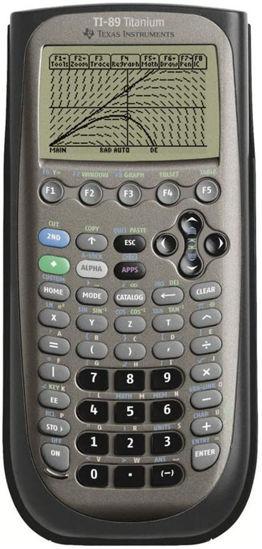 Picture of Texas Instruments 89 Titanium Scientific Calculator