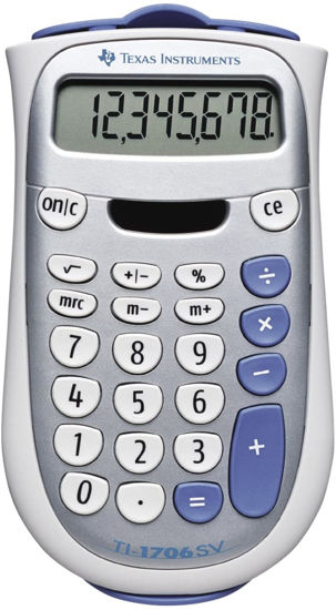 Picture of Texas Instruments 1706SV Calculator
