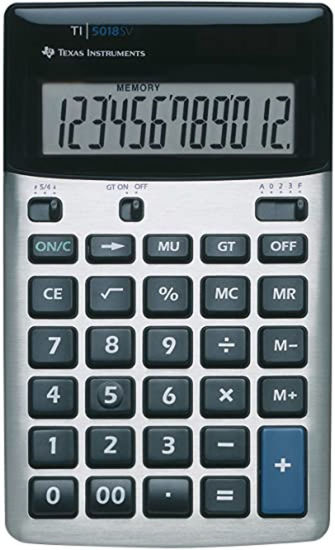 Picture of Texas Instruments 5018 SV Calculator