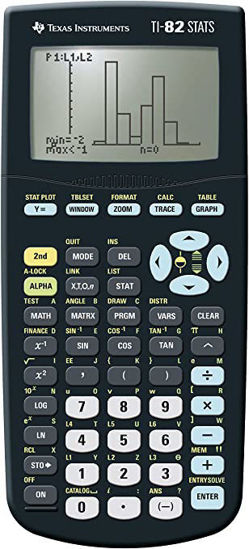 Picture of Texas Instruments 82 Stats Graphics Calculator