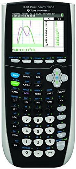Picture of Texas Instruments 84 Plus C Silver Edition Scientific Calculator